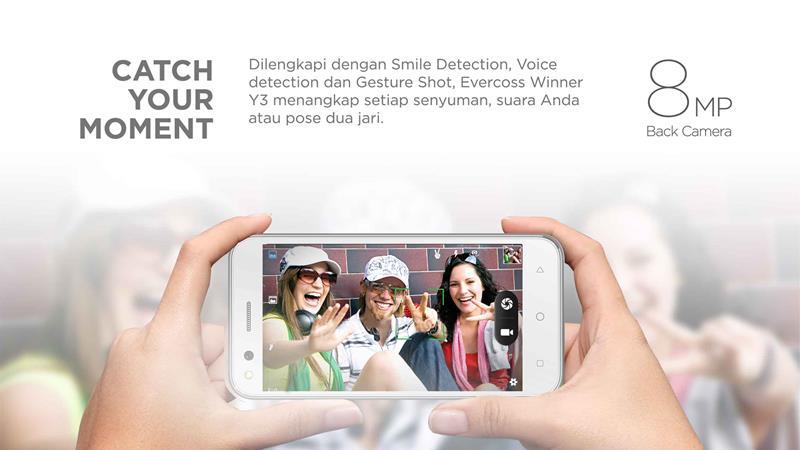 Harga Dan Spesifilkasi Handphone Evercoss Winner Y3
