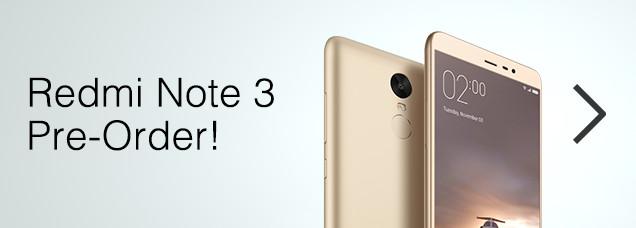 Tautan ke halaman Xiaomi Redmi Note 3