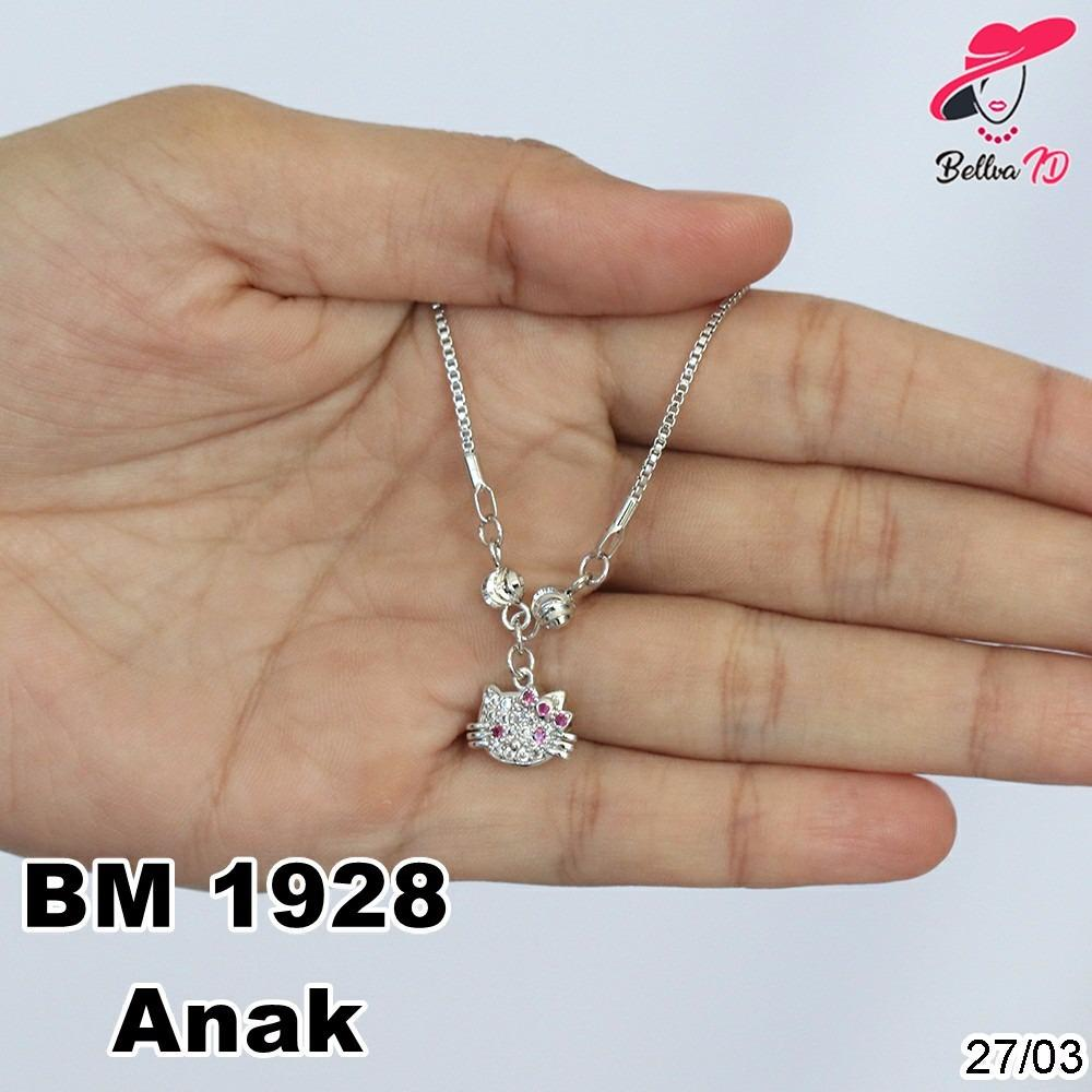 Kalung Hello Kitty Anak Silver M 1928