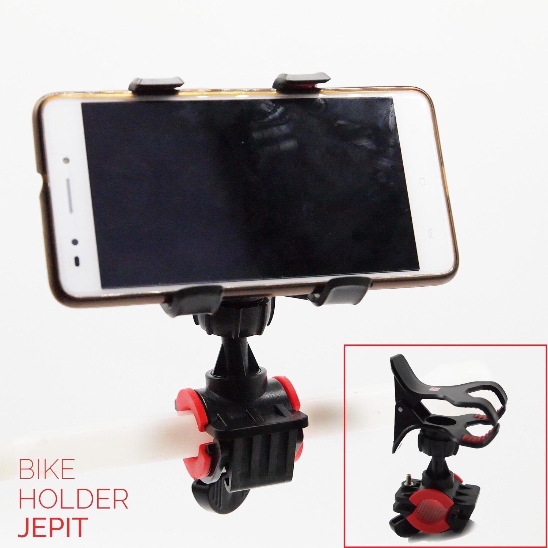 Bike Holder Jepit Holder Sepeda Motor