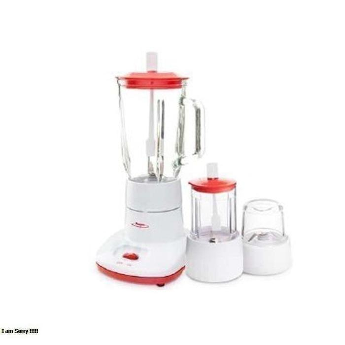 Blender Plastic Wet Dry Mill 3 In 1 Maspion .