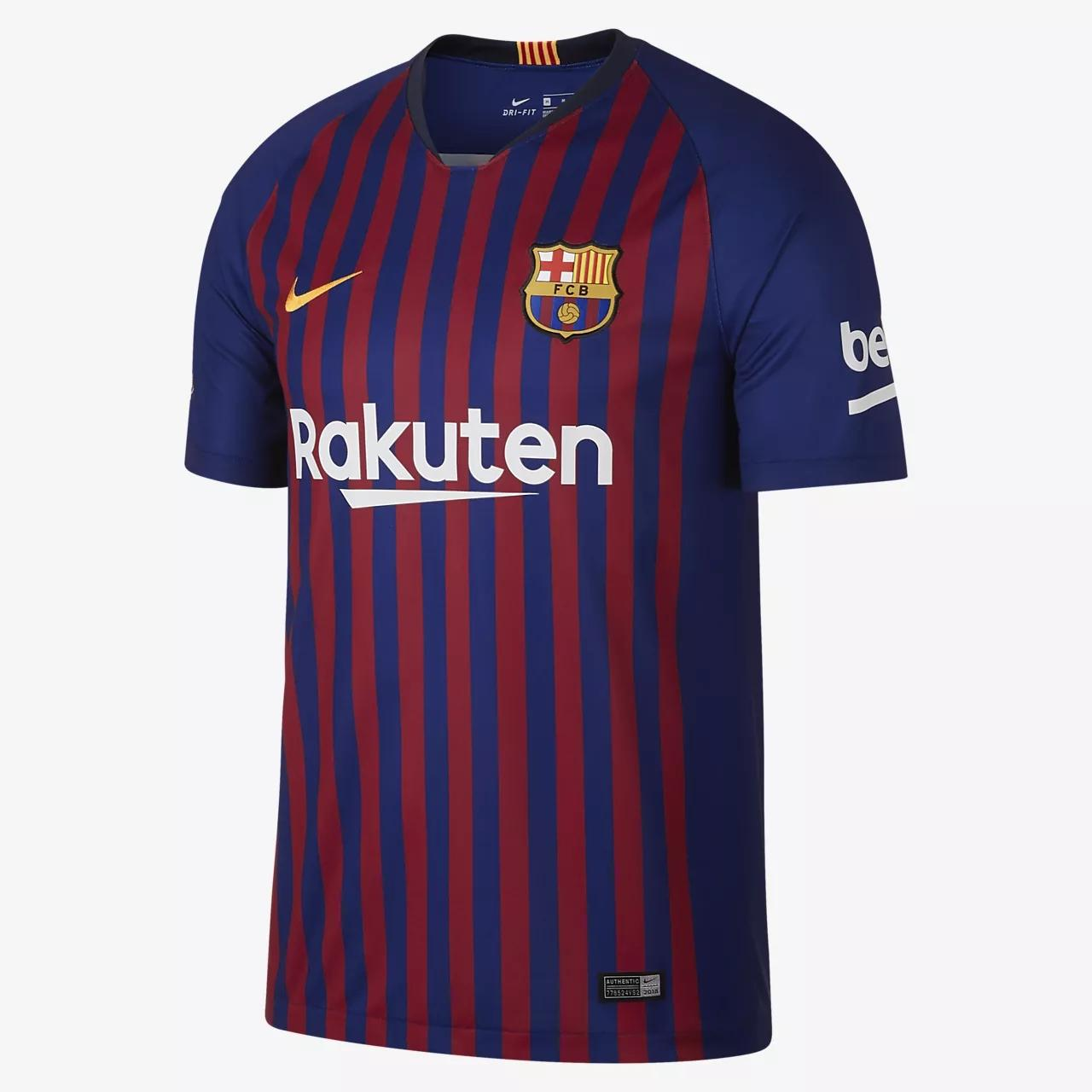 Sigab Store - Jersey Bola Barcelonaa Home Musim 2018/2019 New