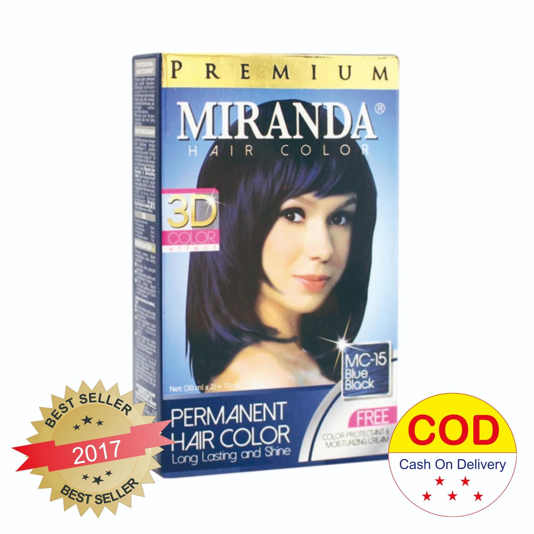 Kehebatan Miranda Magic Color Shampoo Natural Black 30ml Dan Harga Bmks Kemiri Hair Cat Rambut Warna Blue Mc 15