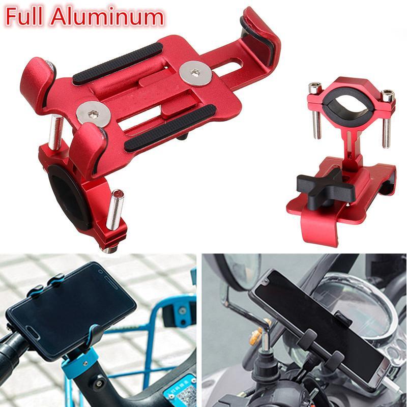 Holder Smartphone Sepeda Universal 360 Derajat Rotasi - Black. Source · Penuh Pijakan Kaki Aluminium untuk Motor Sepeda MTB Dudukan Stang untuk Ponsel-Intl