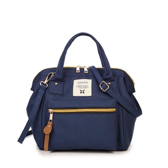 Tas Anello Selempang Ransel Backpack Small Mini Bag Import Tas Wanita -  DARK BLUE - EDW 36023c2115