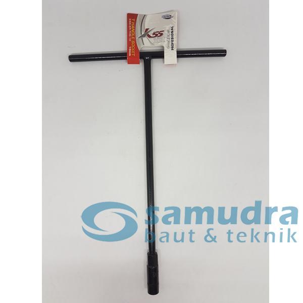 K55 Kunci Sok T - 10 mm - Kunci Sock T - Kunci T - Tool