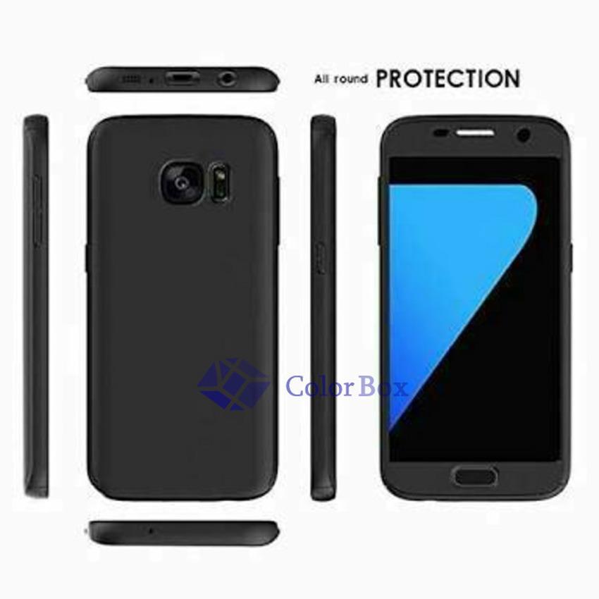 MR Case 360 Samsung Galaxy S7 Edge / Case Samsung S7 Edge / Case Fullbody Depan
