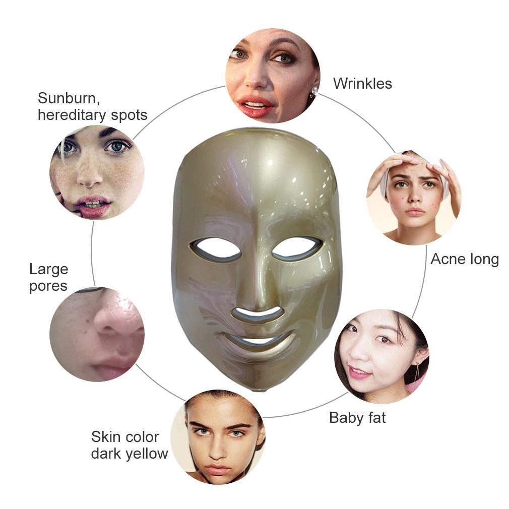Perawatan Wajah: Masker Photodynamic LED Anti Jerawat Dan Peremajaan Kulit