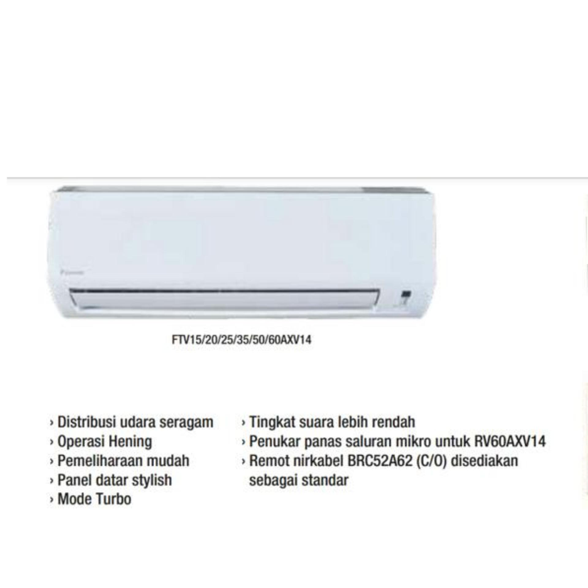 Ac Daikin Split ftv25axv14 1pk (Malaysia) - Putih SAMSUNG TV LED UA32FH4003R FREE ONGKIR KHUSUS JAKARTA (DETABEK MINIMAL 2 UNIT)