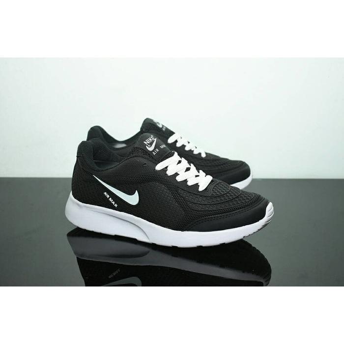 Kehebatan Sepatu Sport Nike Airmax Tiger Abu Abu Merah Running ... 70379e659e