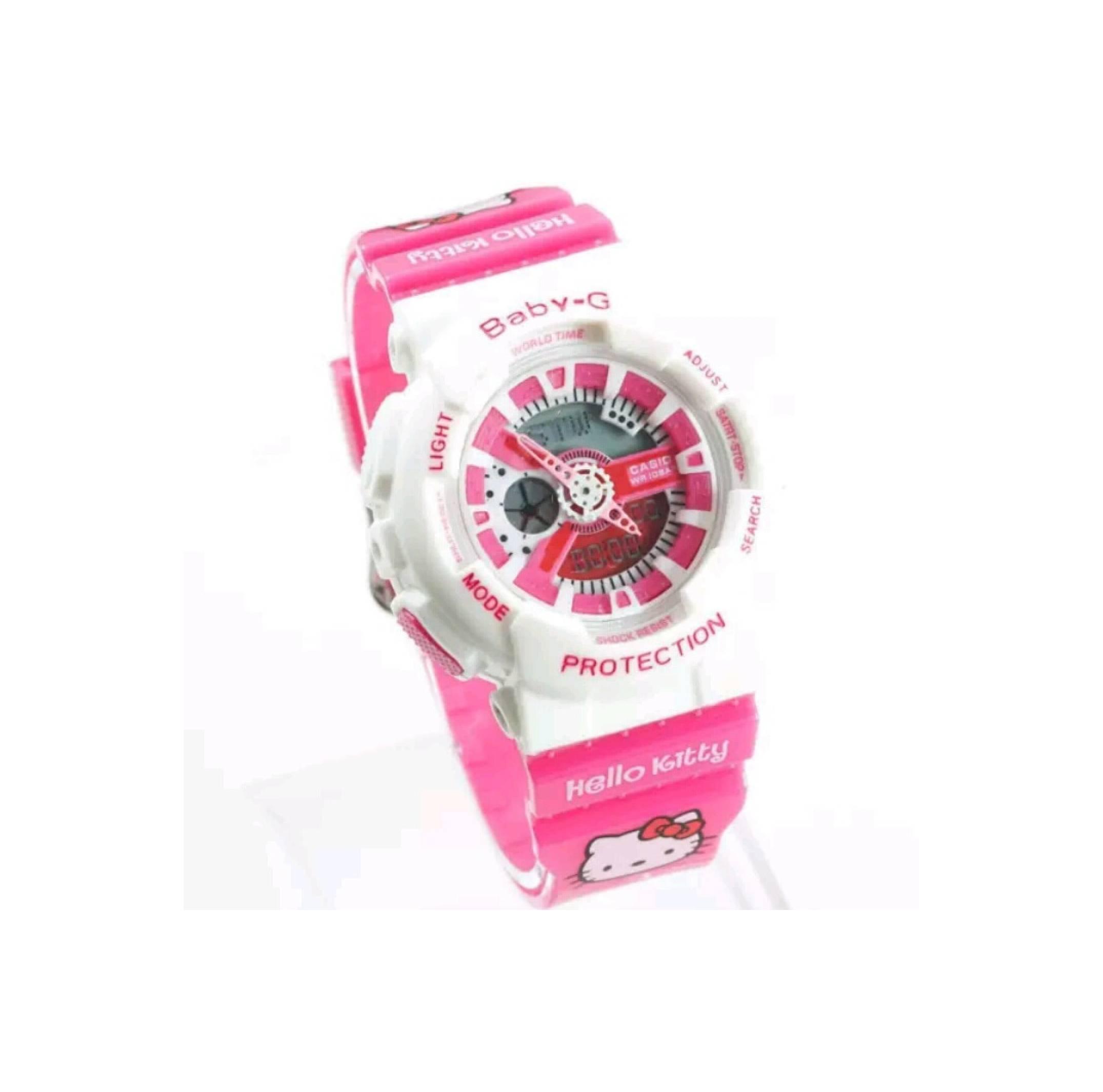 Kehebatan Ba110bc 1a Baby G Ba 110 Series Womens Watches Dan Harga Casio 112 Hitam Jam Tangan Wanita Anak Ba110 Hello Kitty