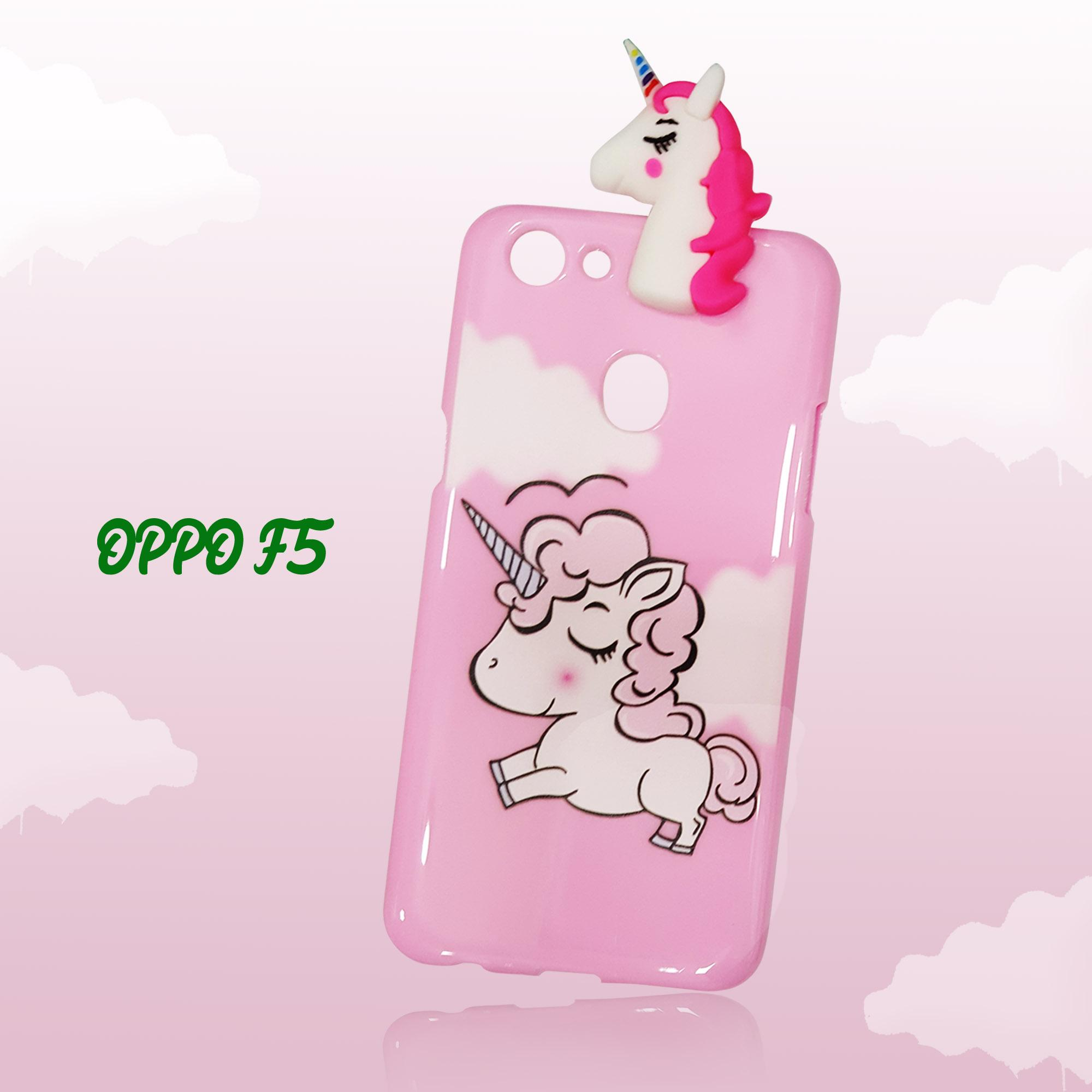 Marintri Case Oppo F5 New Unicorn Manjat