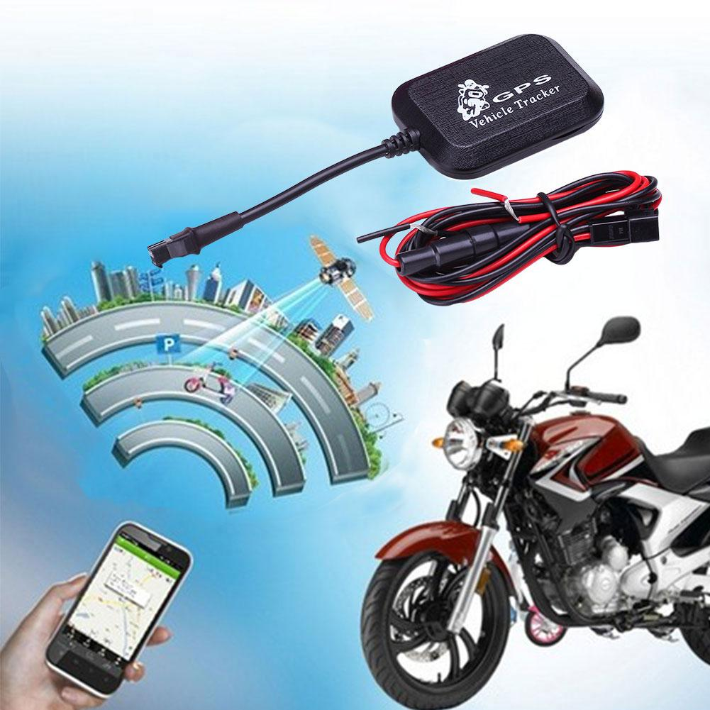 GoGoStore Kendaraan Mobil Motor GPRS GSM GPS Tracker Locator 4 Band Real Time Anti-Theft