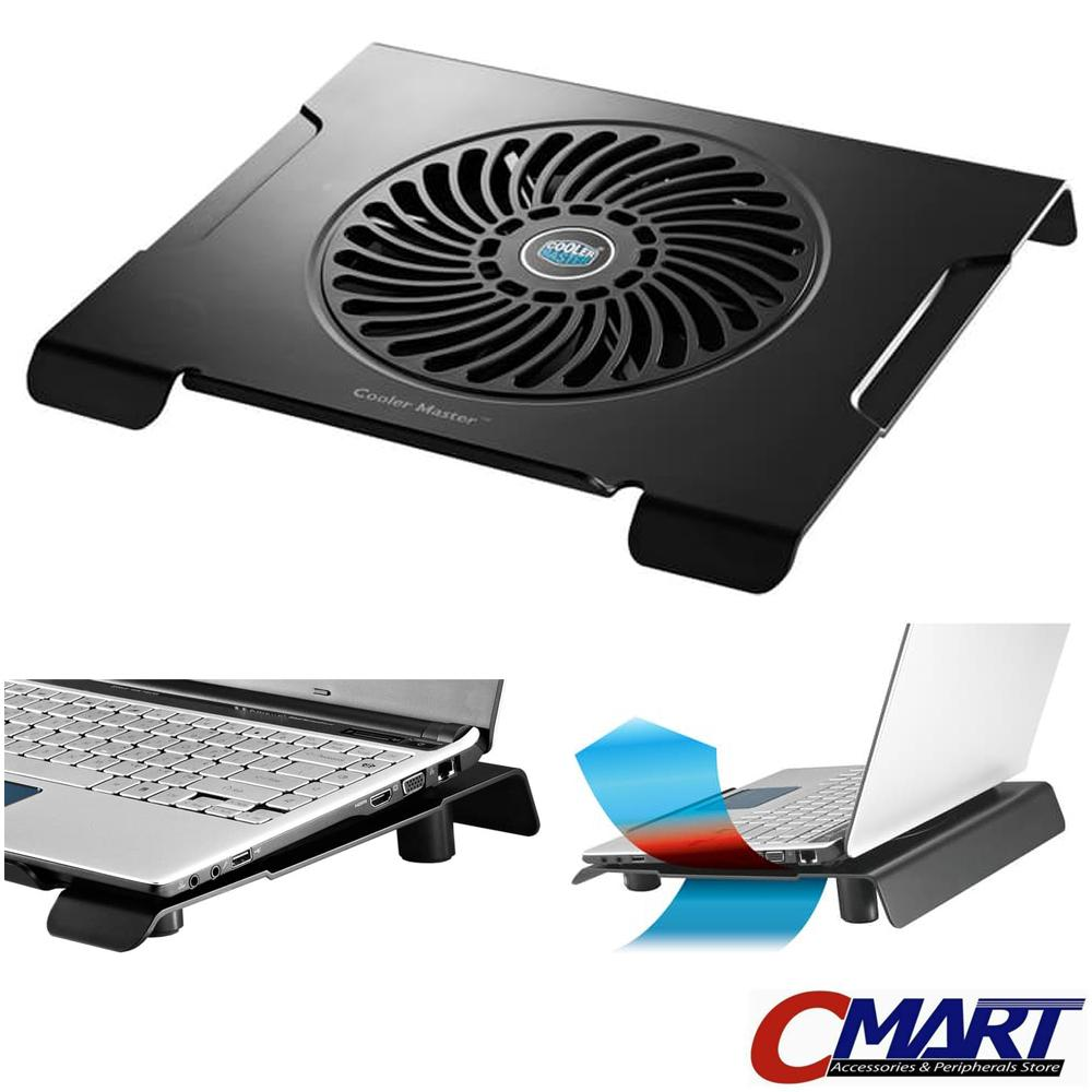 New Update Of Cooler Master Notepal Cmc 3 Silent Fan Latest Models Coolerpad 1 Ergostand Kipas Pendingin Laptop Cmc3