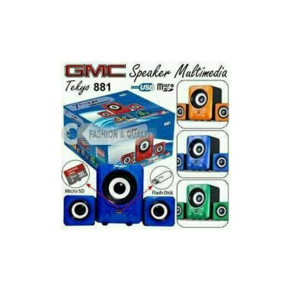 Hot Promo Speker multimedia GMC tekyo speaker aktif / speaker laptop / speaker super bass