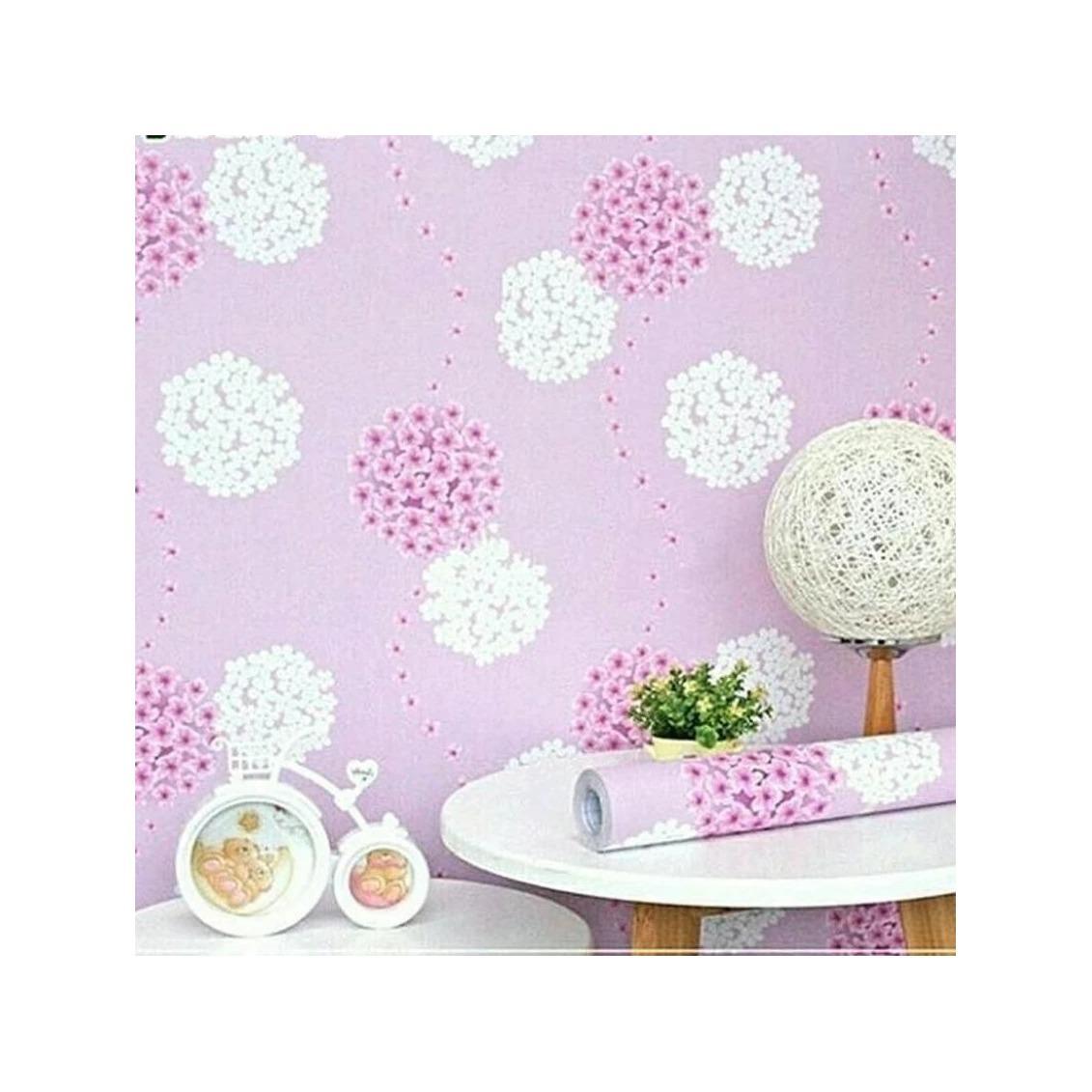 Restu_Ibu Wallpaper Sticker Cantik Motif Bunga Dandelion 45x10 Meter