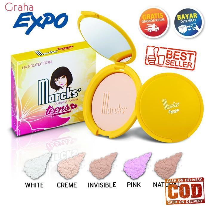 Bedak Marcks Compact Powder Teens Original UV Protection