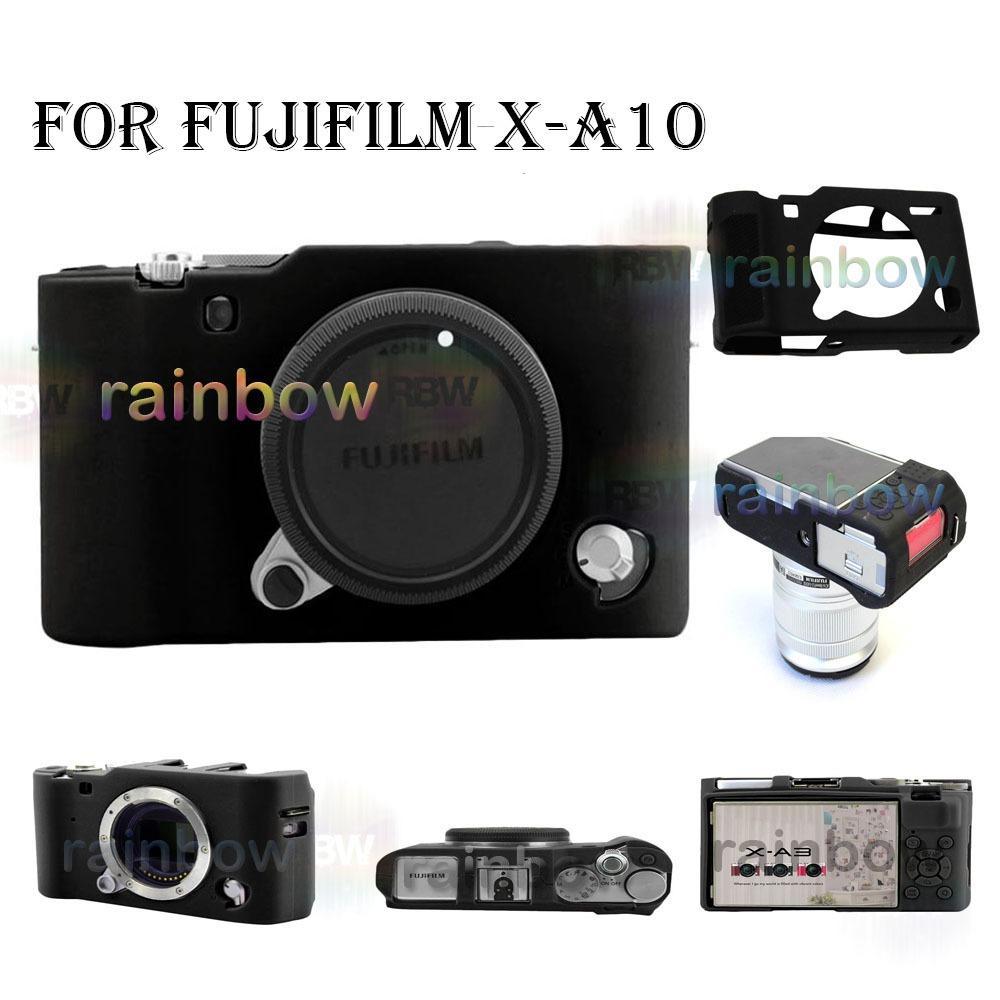 Rainbow Silikon Case Camera Fujifilm X-A10 / Rubber Camera Case Fujifilm X - a10