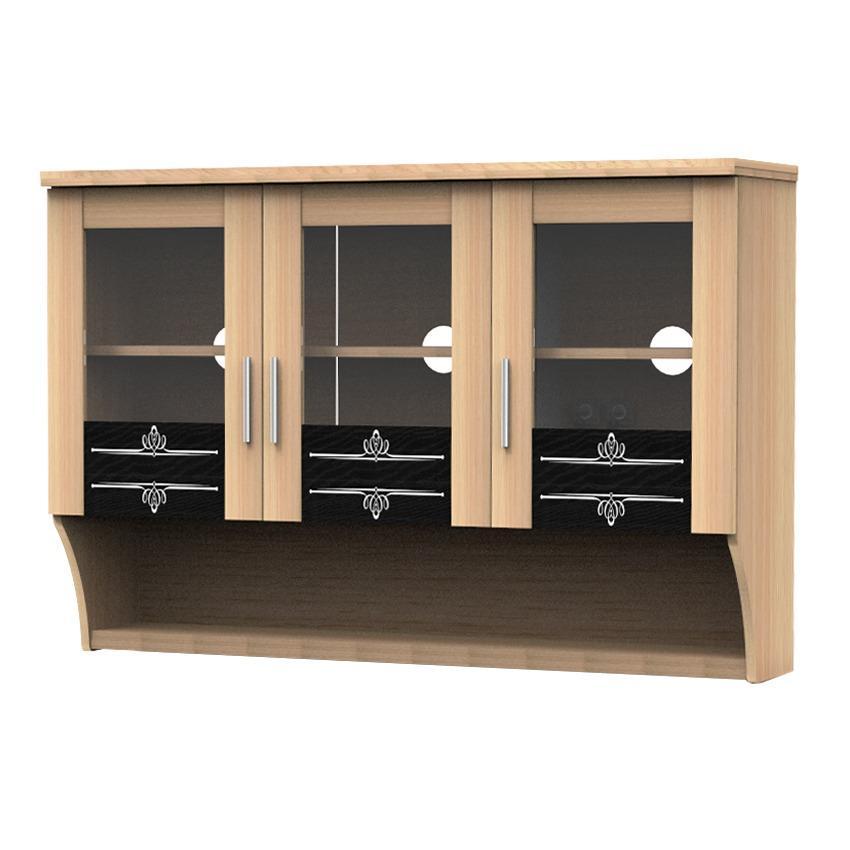 Topix Kitchen Set 3 Pintu Cabinet Atas Pintu Kaca Cabinet Bawah Source · Kabinet Atas Terbaru