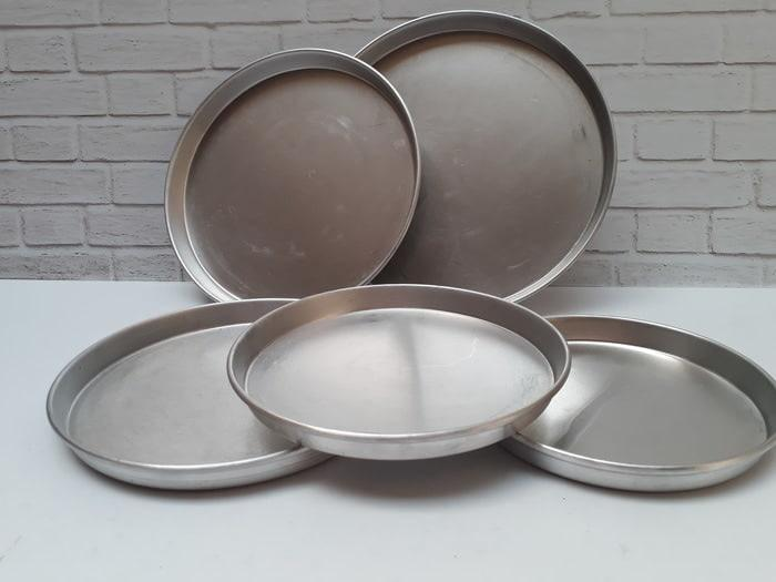 LOYANG ALUMINIUM PIZZA 24 CM / PIZZA PAN TEBAL / LOYANG PIZZA24