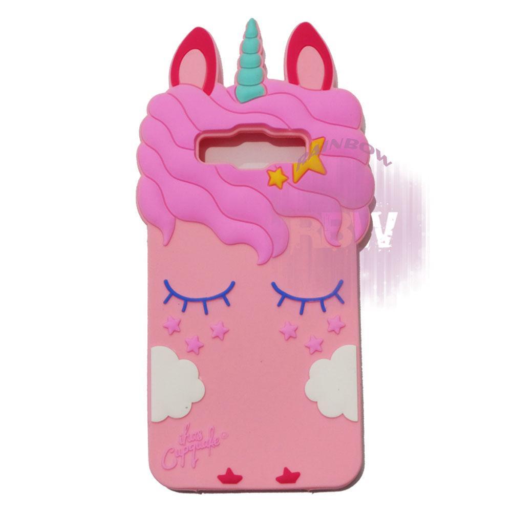 Rainbow Silicone 3D Case Samsung Galaxy J2 Prime / Soft Case Boneka Lucu / Casing Unik