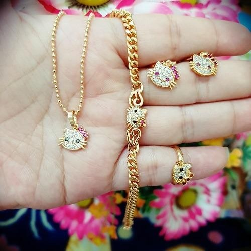 set kitty anak cantik xuping gold