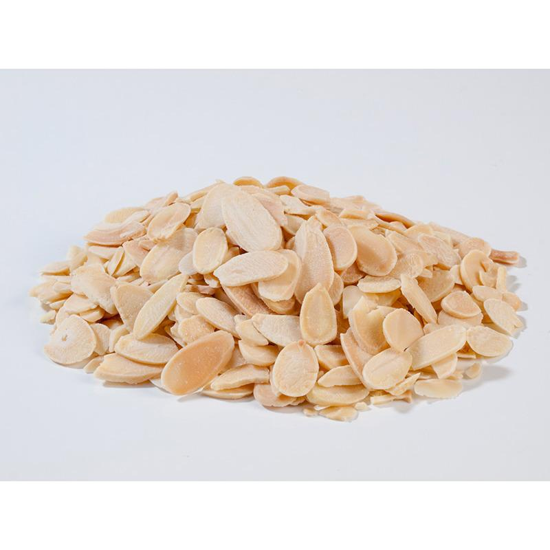 Natural Roasted Almond Sliced ( Panggang ) - 250 Gr