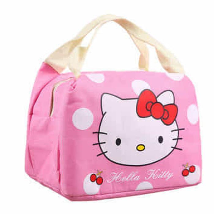 Tas Bekal Lunch bag Cooler bag Motif Kartun Insulated Bag