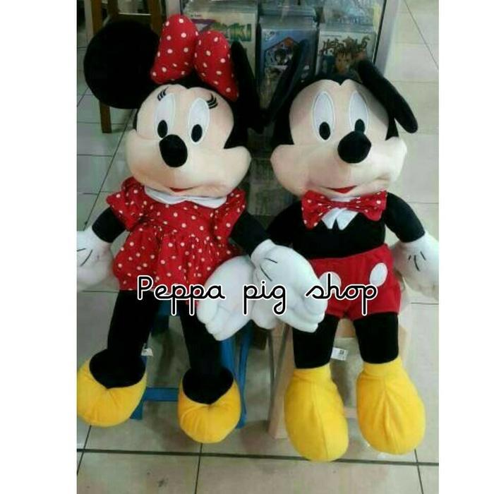 Boneka Micky Dan Mini Mouse Jumbo - Wikie Cloud Design Ideas d85d655045