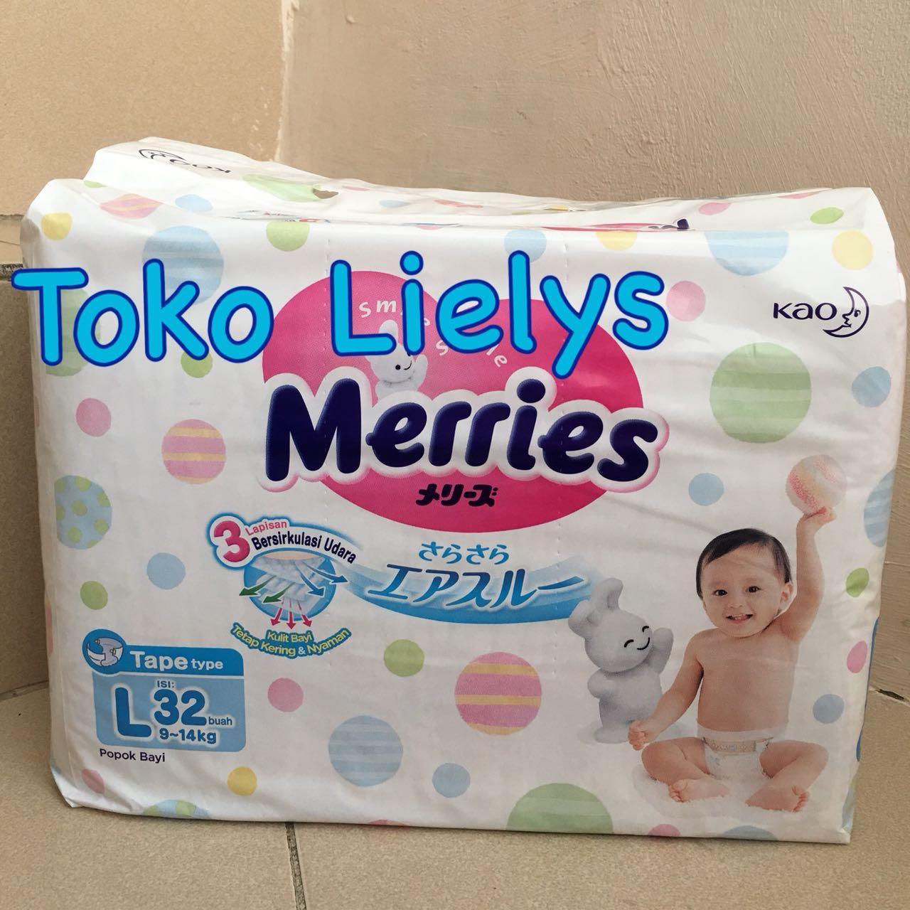 Kehebatan Goon Tape New Born Popok Perekat 48 Nb48 Dan Harga Update Excellent Dry Nb Merries Premium L32 L 32