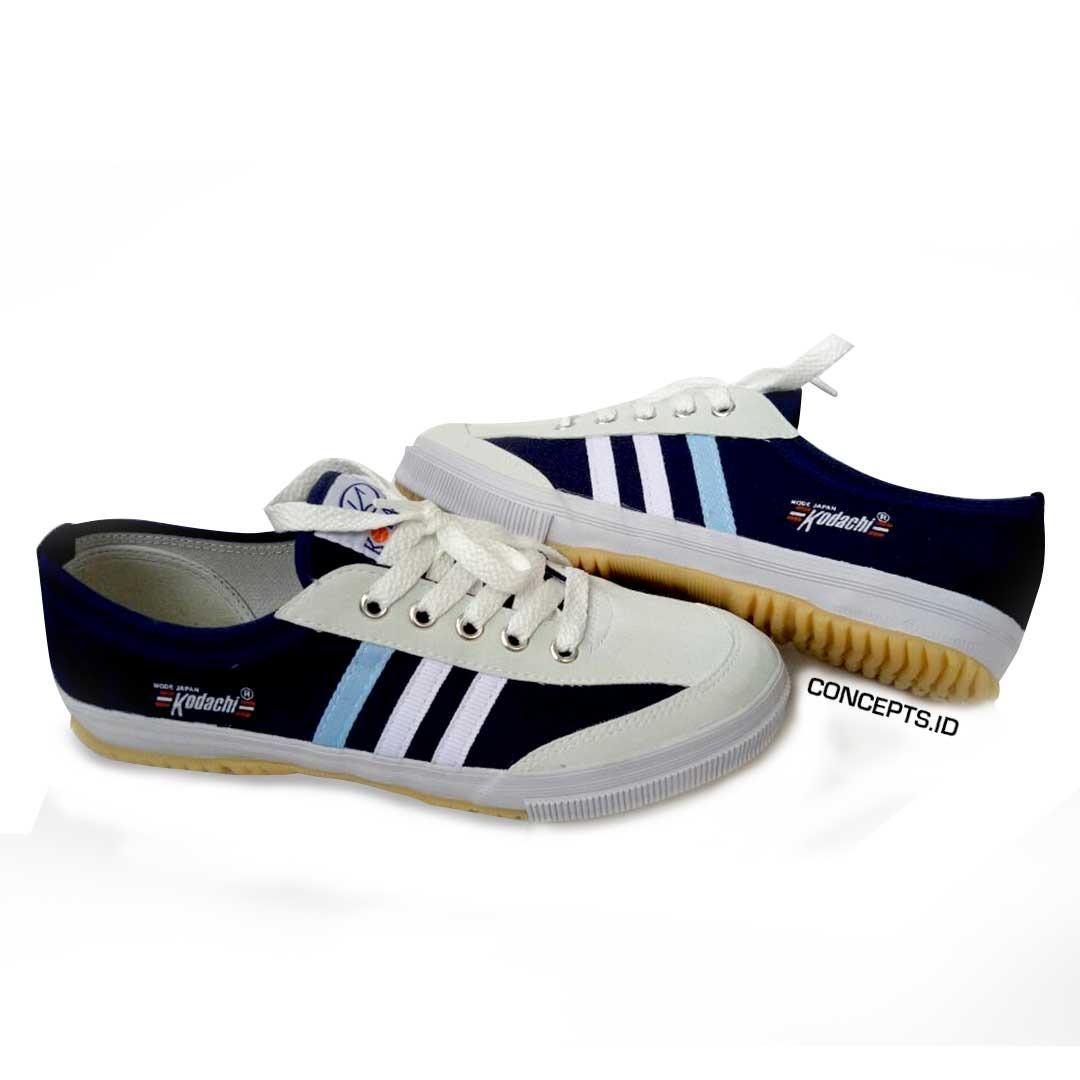 Sepatu Capung Kodachi 8112 NAVY Limited Edition