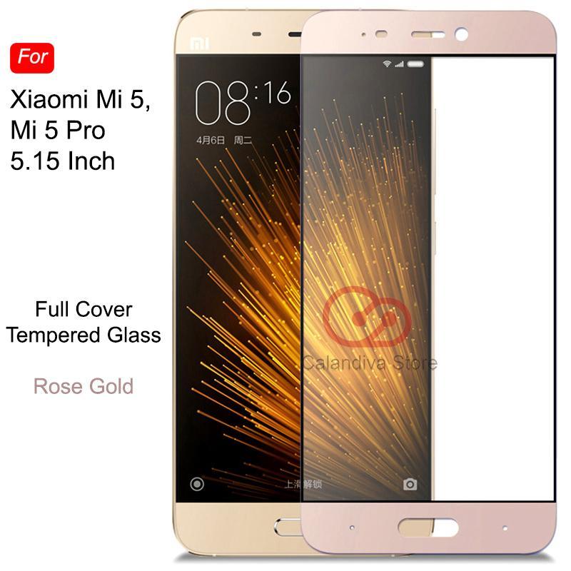 ONE-X Full Cover Tempered Glass for Xiaomi Mi 5 / Mi 5 Pro -
