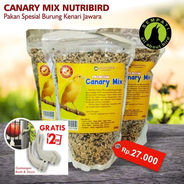 Pakan Burung Lovebird Kontes Lomba 200gr Moncer Bonus 4 Pcs Cicitian Source · Pakan Burung Lovebird Harian Win Jaya Mandiri Source Canary Mix Premium ...