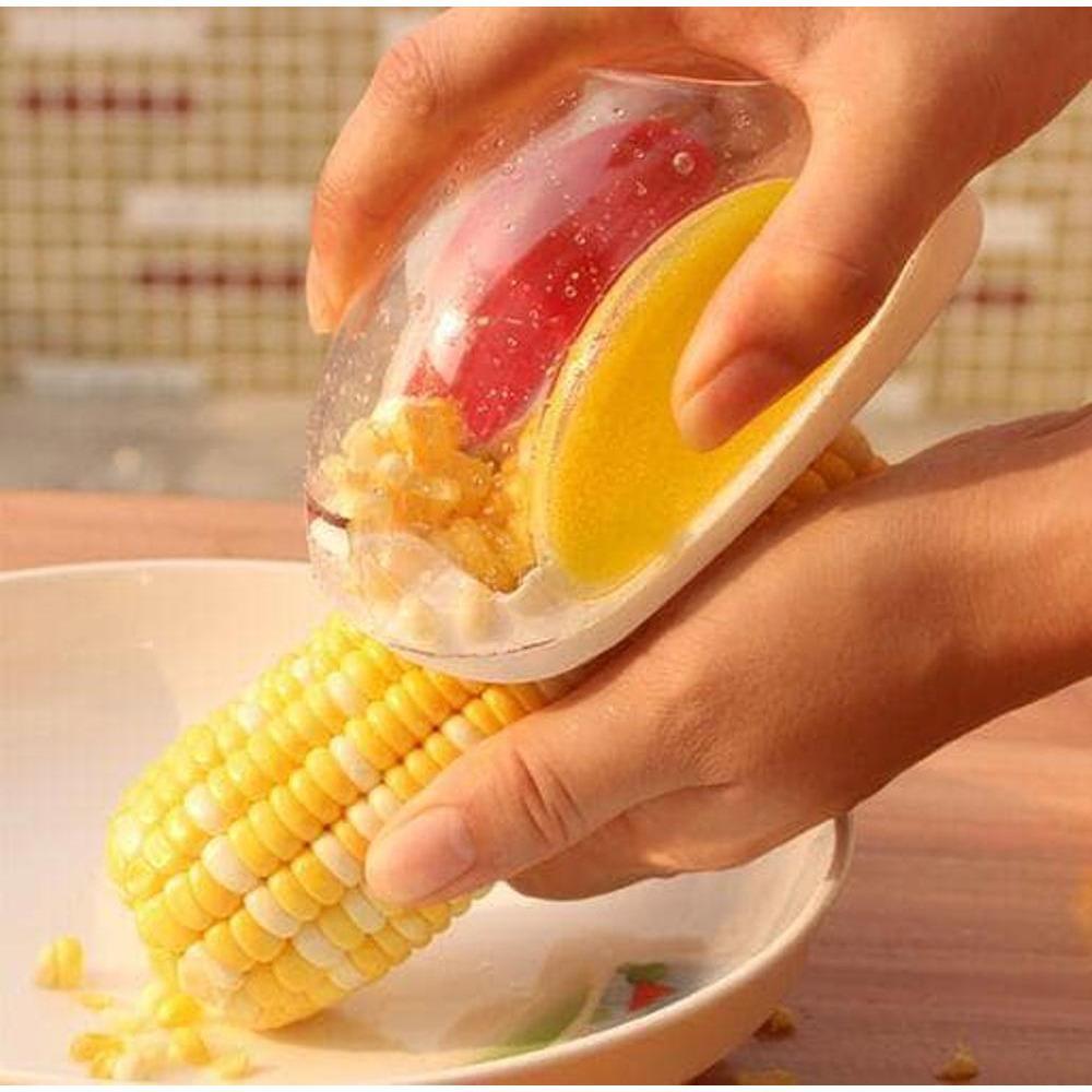 Kehebatan Cute Baby Kids Teether Banana Corn Sikat Gigi Bayi Bentuk Toothbrush Serutan Jagung Stripper Pemarut