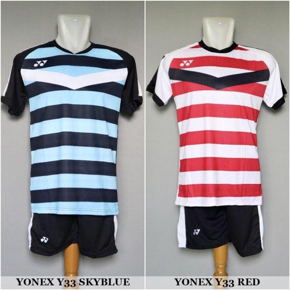 Setelan Badminton & Bulutangkis Yonex Y33 - Baju Kaos Jersey Celana