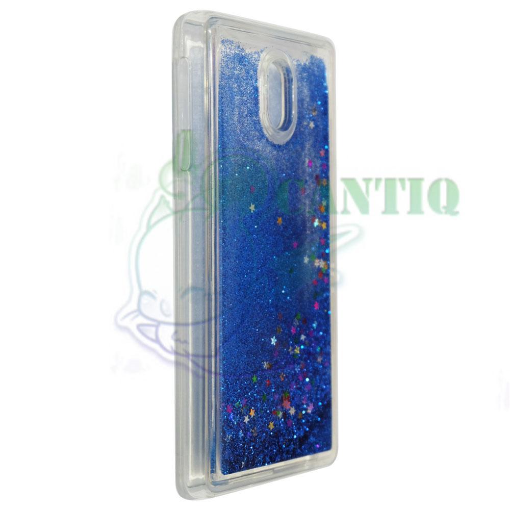 QCF Case Liquid Nokia 3 / Soft Case Aquarium Nokia 3 / Casing Nokia 3 /