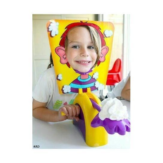Mainan Anak Keluarga Game Pie Face Cream
