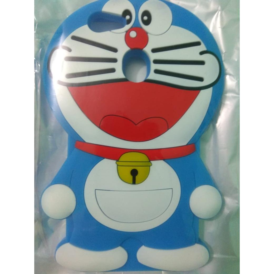 3D SOFTCASE Kartun Doraemon For OPPO F5