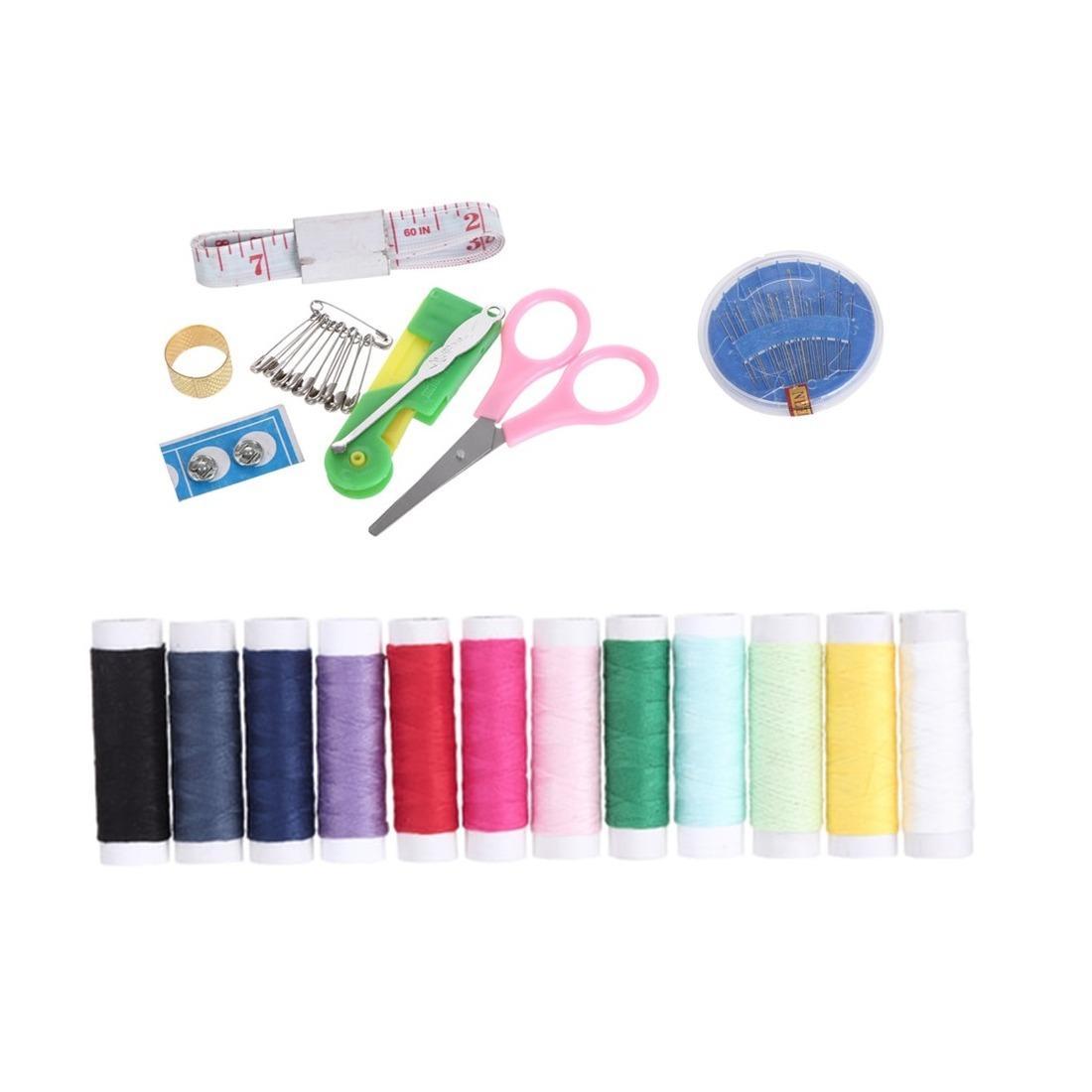 Kehebatan Sewing Kit Box Paket Perlengkapan Menjahit Lengkap Dengan Alat Jahit Set Peralatan Accessories