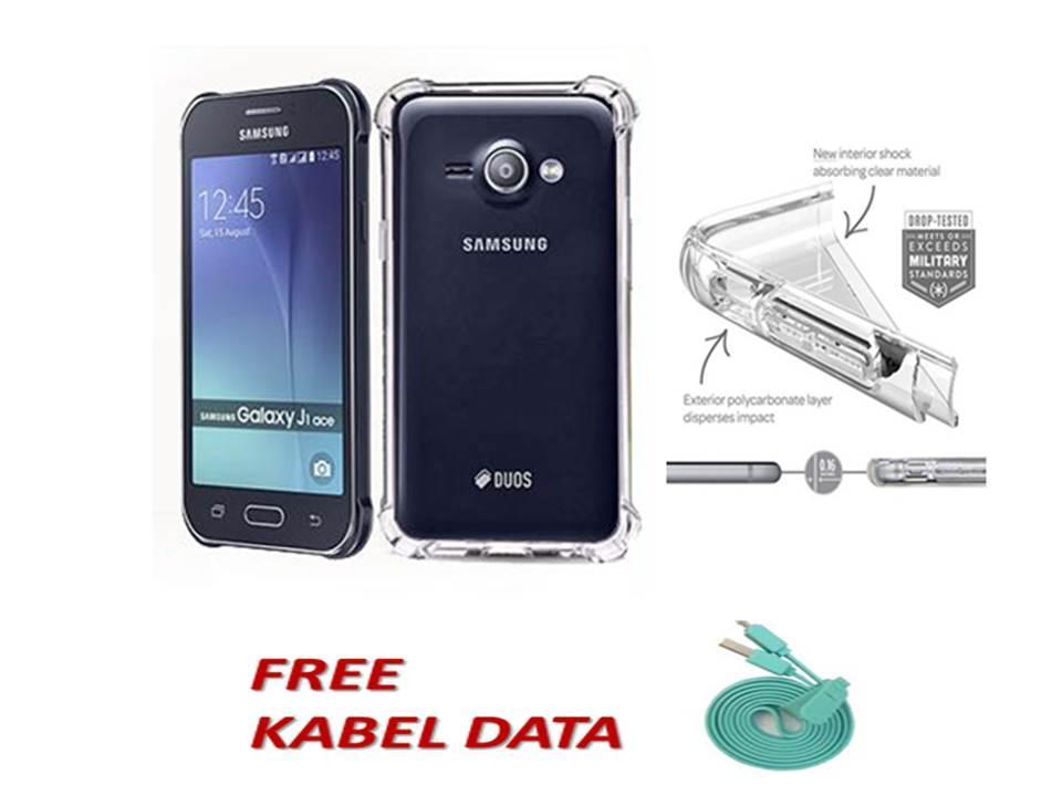 Case Executive Softcase Anti Shock / Anti Crack Caseology for Samsung Galaxy JI ACE - Bening