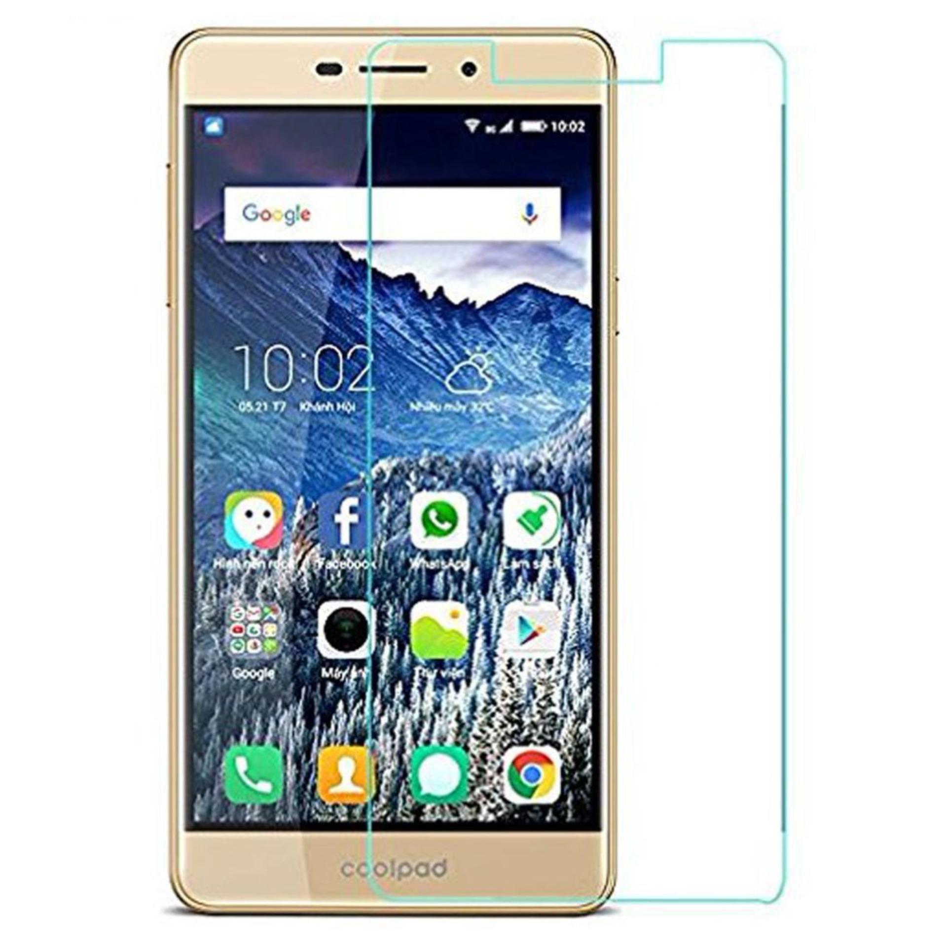 Vn CoolPad Mega Tempered Glass 9H Screen Protector 0.32mm - Transparan