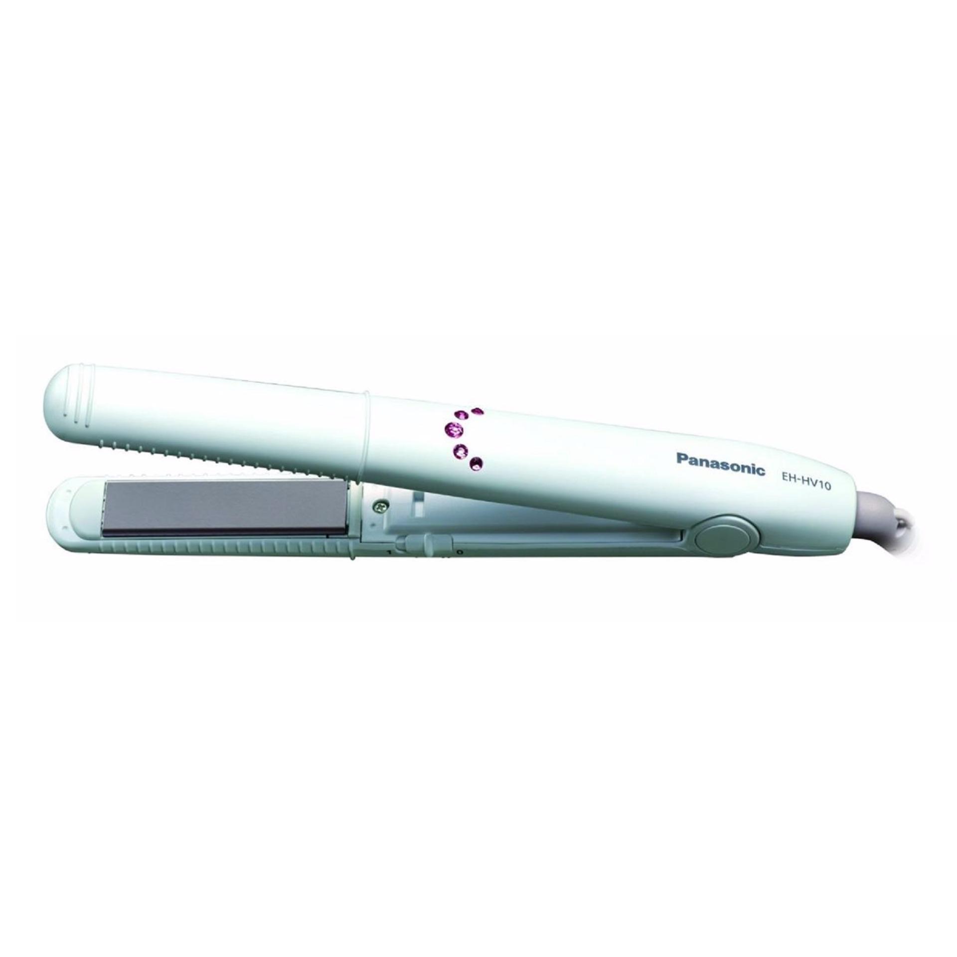 Panasonic hair Straightener alat Catokan EH-HV10 Putih
