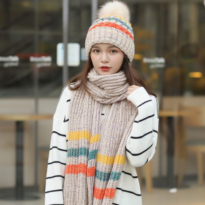 Topi Topi Beanie Korea Modis Gaya Tambah Beludru Musim Dingin Wanita Musim  Dingin (Hitam) bb3449b191