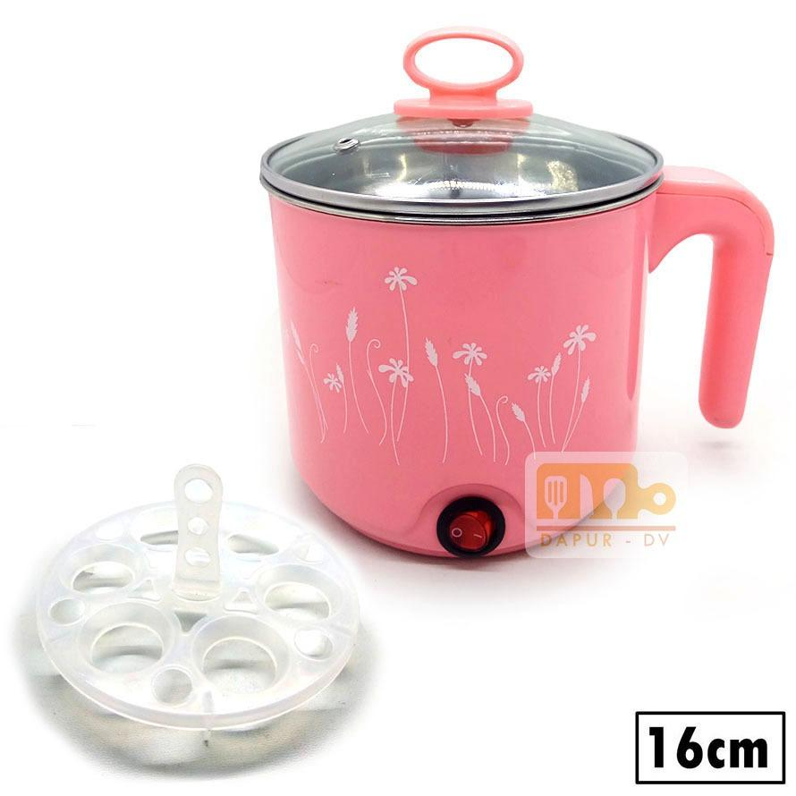 Kehebatan Maspion Ump 1814 Electric Kettle Teko Listrik 1 8 L 22cm Panci Pot Stainless Steel 16 Cm Pink