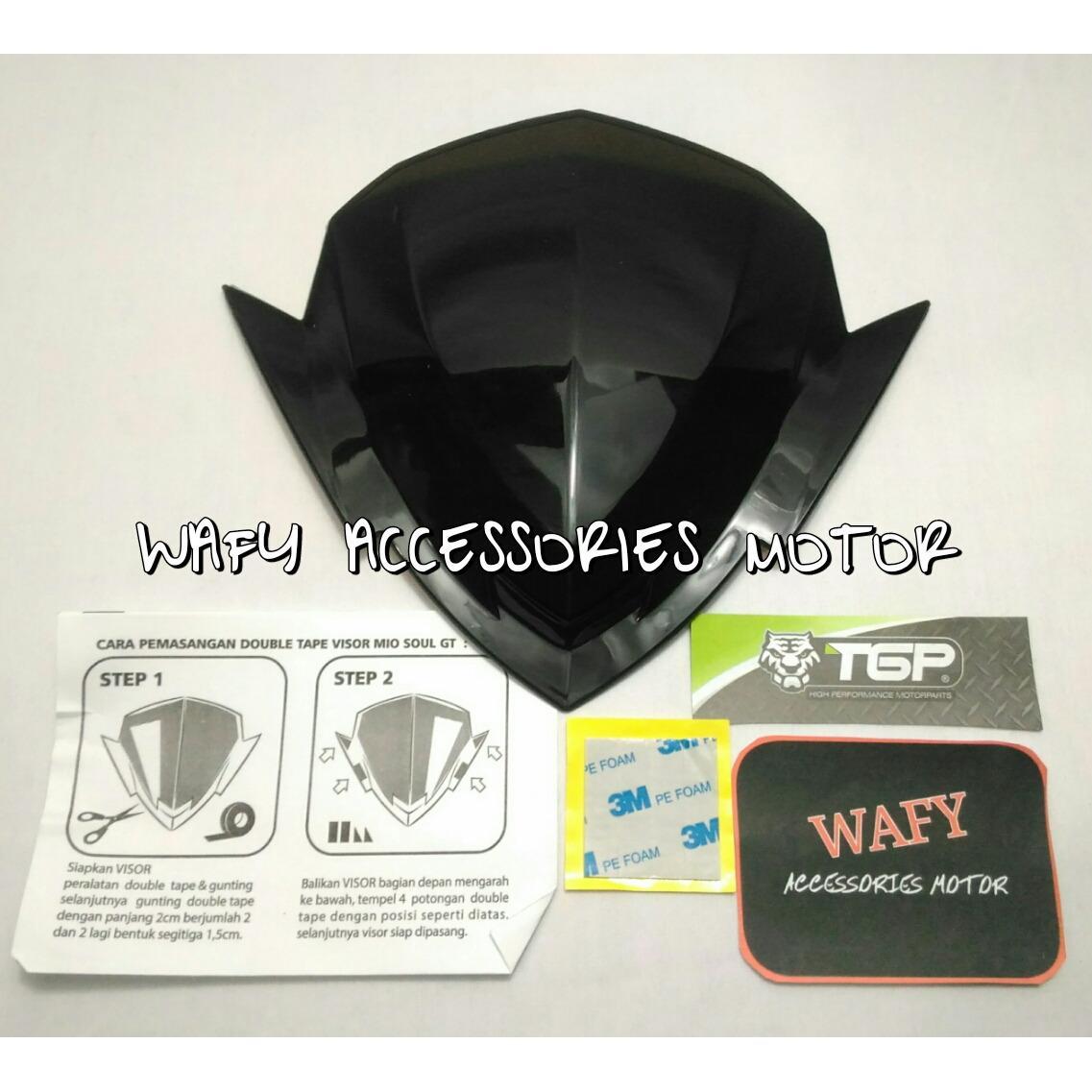 Monster Karpet Motor Mio Terbaru M3 J Soul Gt 125 Z New Visor Tgp Blue Core