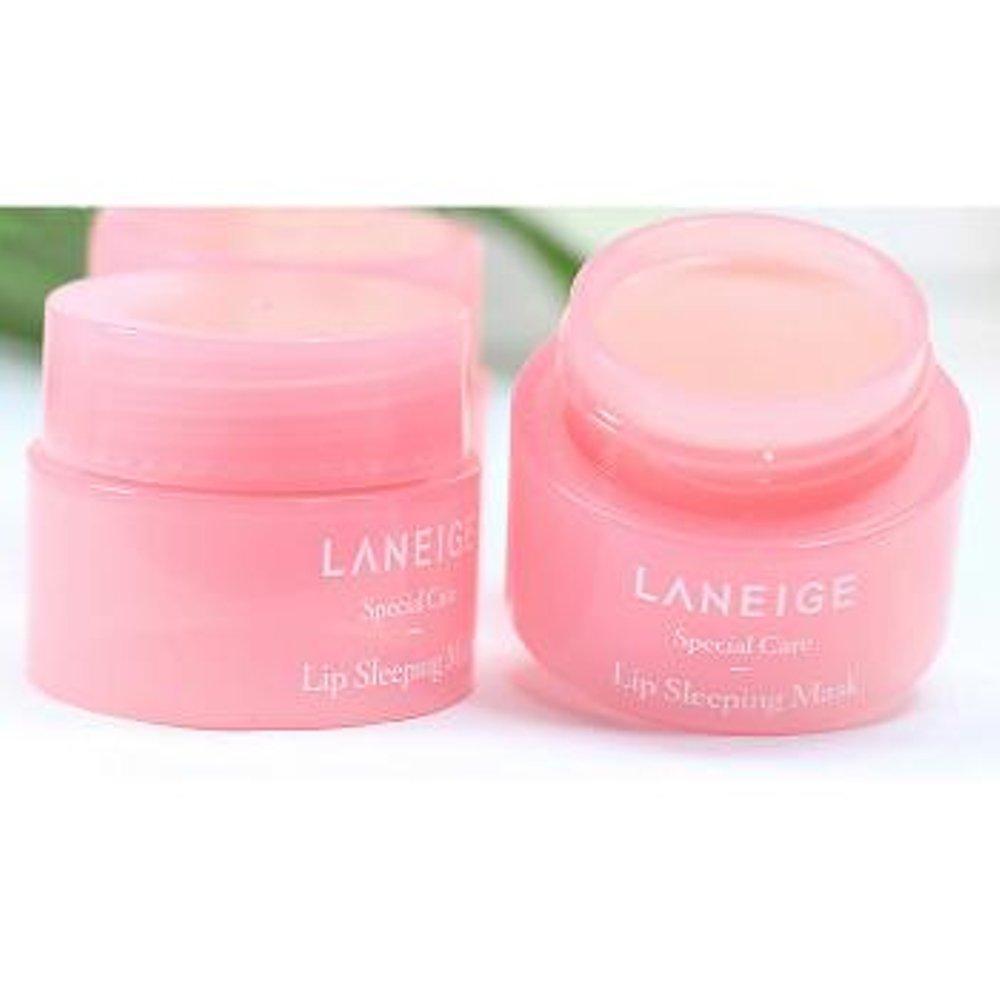 Kehebatan Laneige Lip Sleeping Mask Masker Bibir 20 Gr Applelime Dan Collagen Berry Mix By