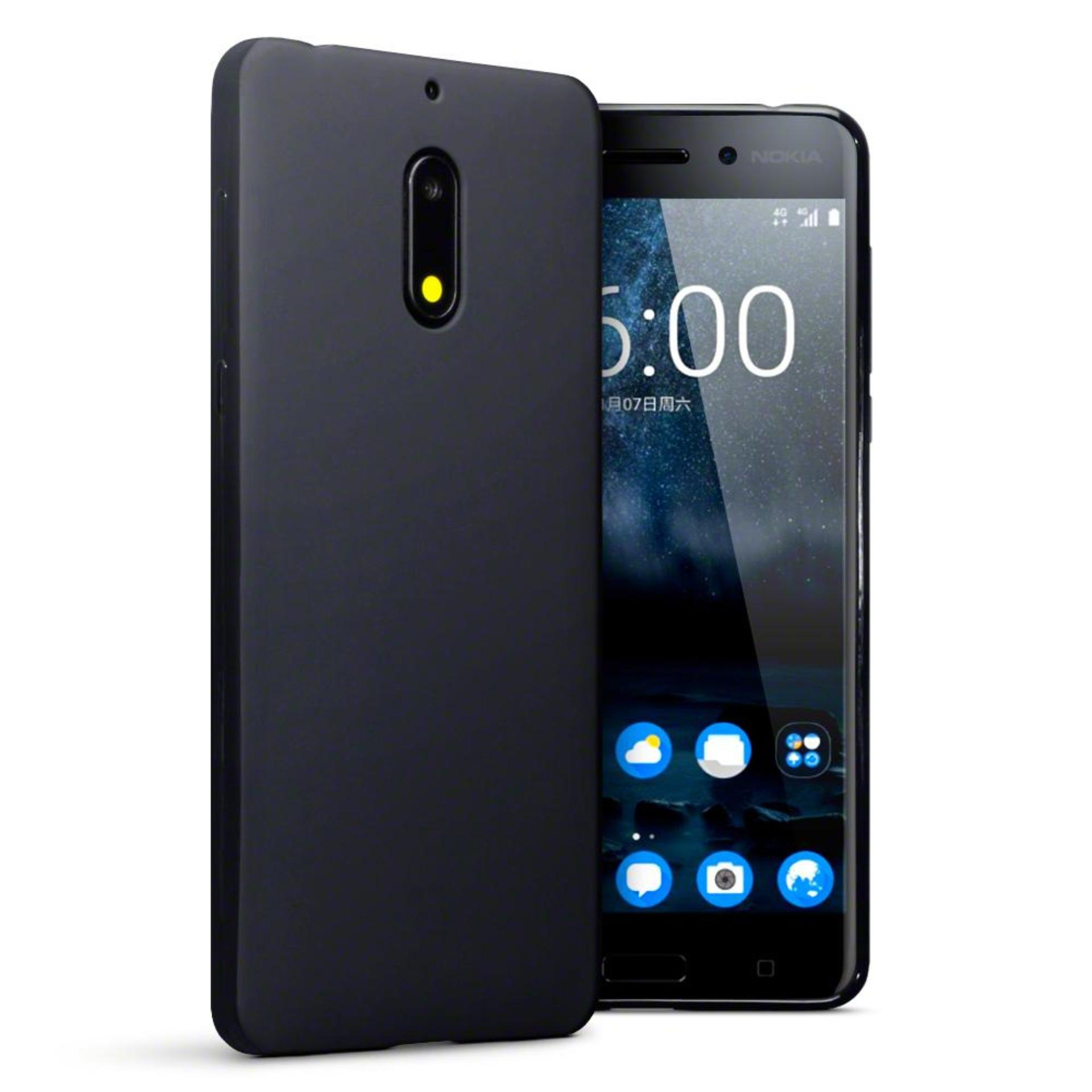 Case Slim Black Matte Xiaomi Nokia 6 Baby Skin Softcase Ultra Thin Jelly Silikon Babyskin