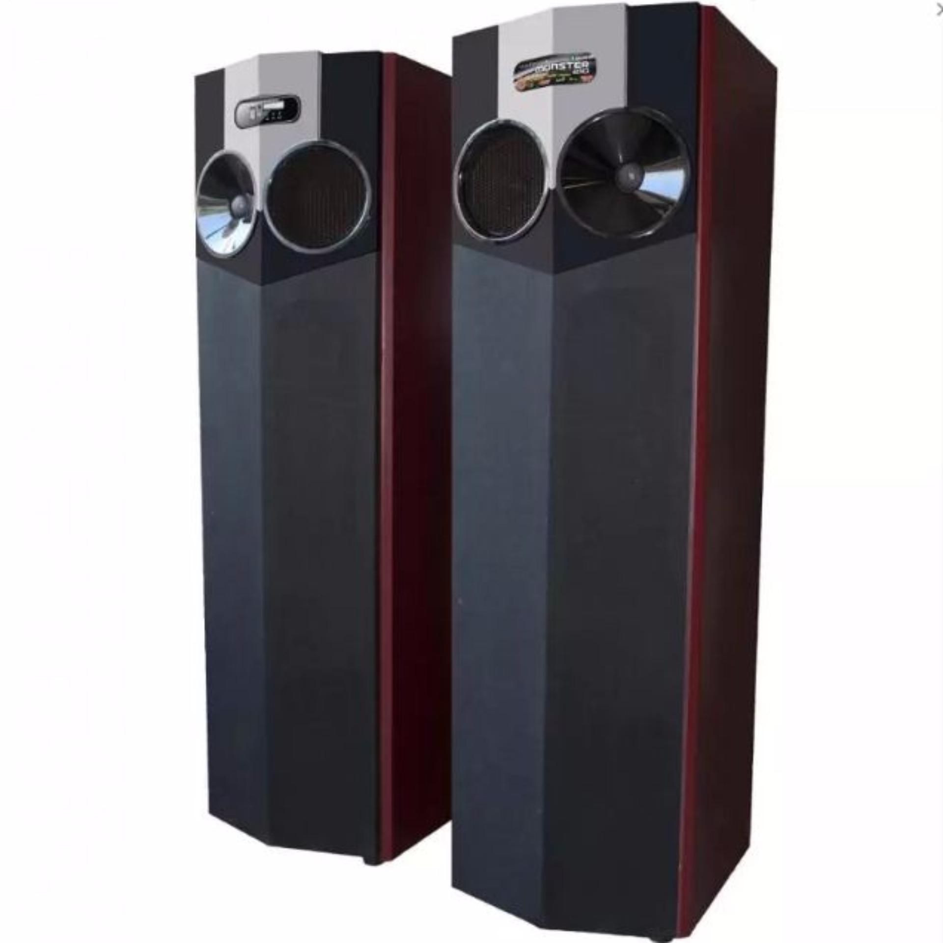 Roadmaster Speaker Aktif Standing Floor Bluetooth Monster-210 - Hitam
