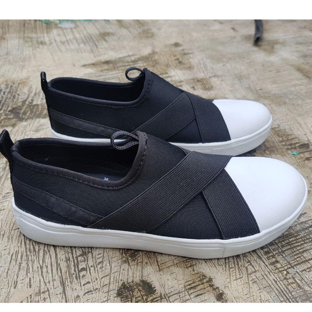 ISABEL SHOP SHOP LINE Source · Sepatu Kets Wanita Tali Silang Sneakers Shoes YL 22