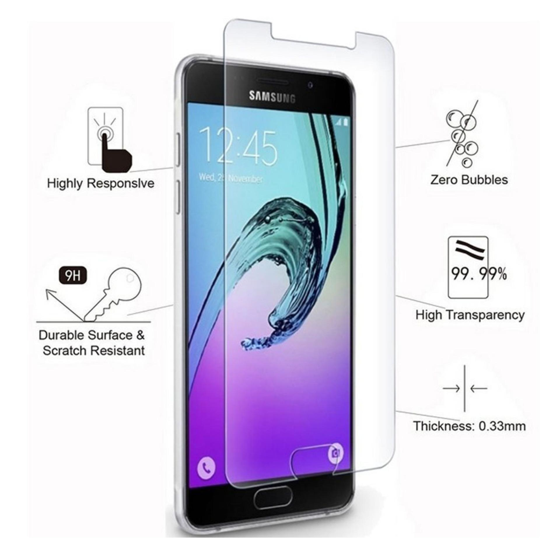 Tempered Glass Samsung Galaxy A3 (2016) / A310 Anti Gores Kaca / Screen Guard